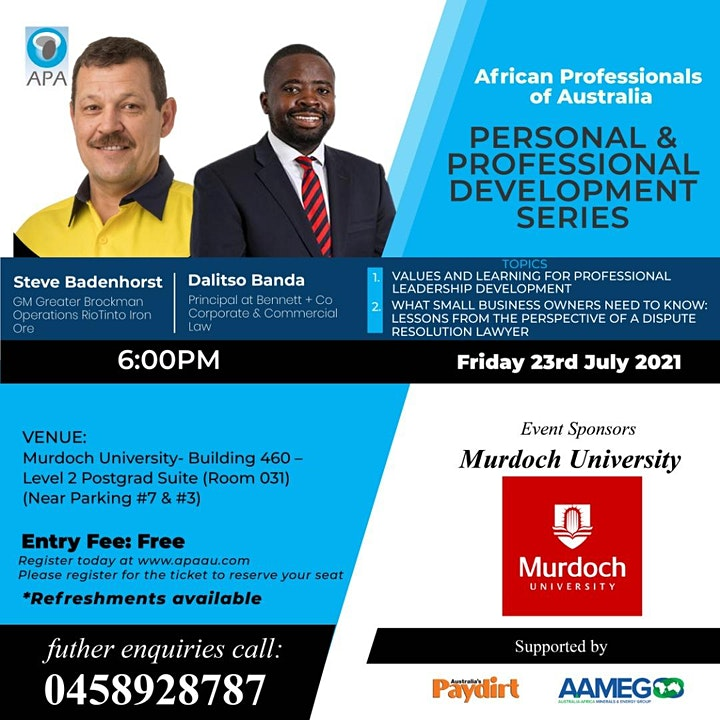 Personal and Professional Development Series - Conference image