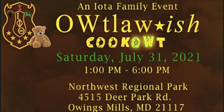 Owtlawish CookOwt tickets