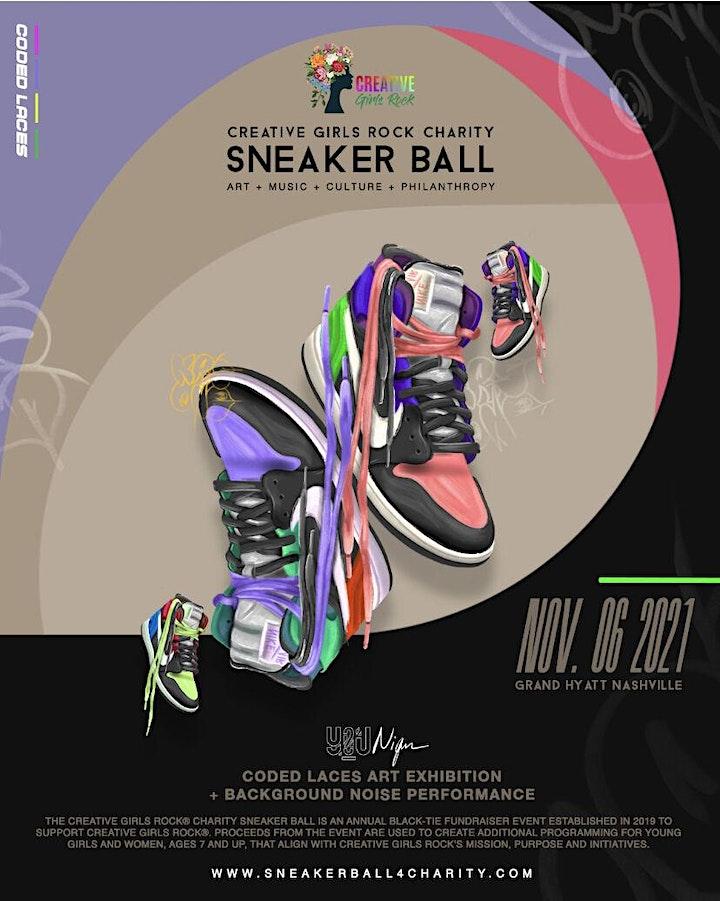 Creative Girls Rock® Charity Sneaker Ball 2021 image