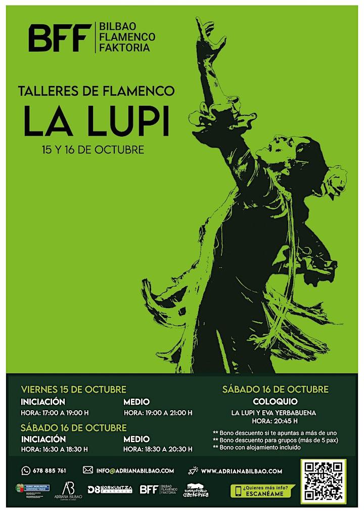 Imagen de Talleres de Flamenco - La Lupi (Medio)