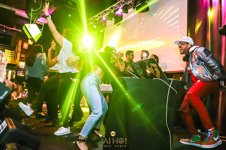JAI HO! Bollywood Dance Party Seattle   DJ Lakshay + DJ Prashant image