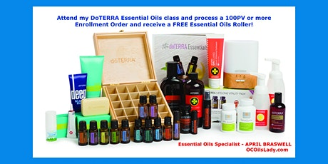 Fun Essential Oils Made Easy Online Zoom Class tickets