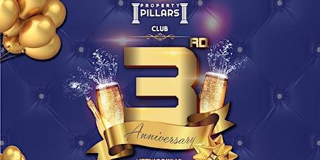 Property Pillars Club 3rd Year Anniversary tickets