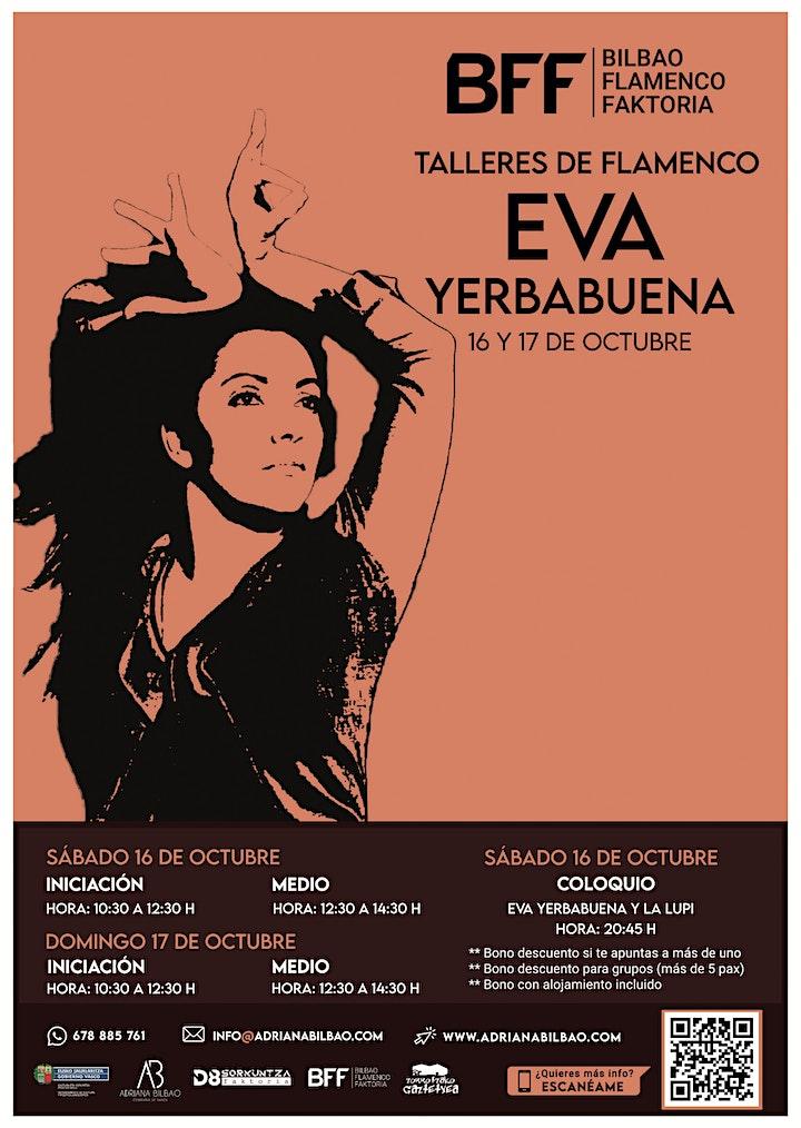 Imagen de Talleres de Flamenco - Eva Yerbabuena (Iniciación)