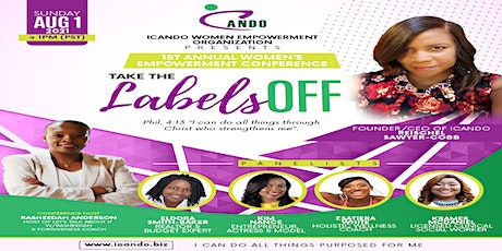 ICANDO 1ST ANNUAL WOMEN EMPOWERMENT CONFERENCE tickets