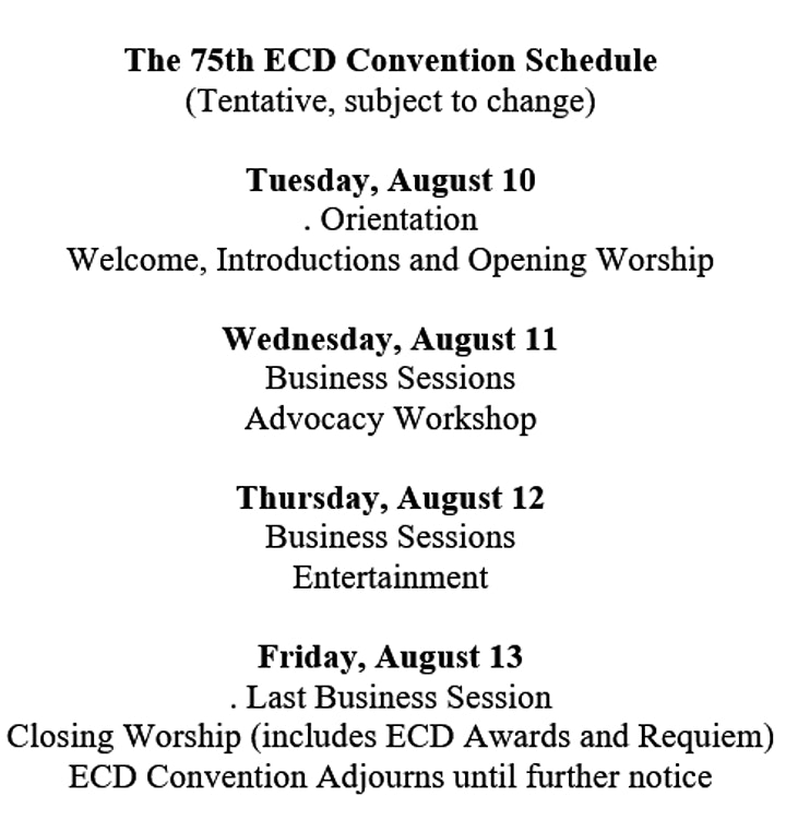 Seventy-Fifth Convention of the Episcopal Conference of the Deaf image
