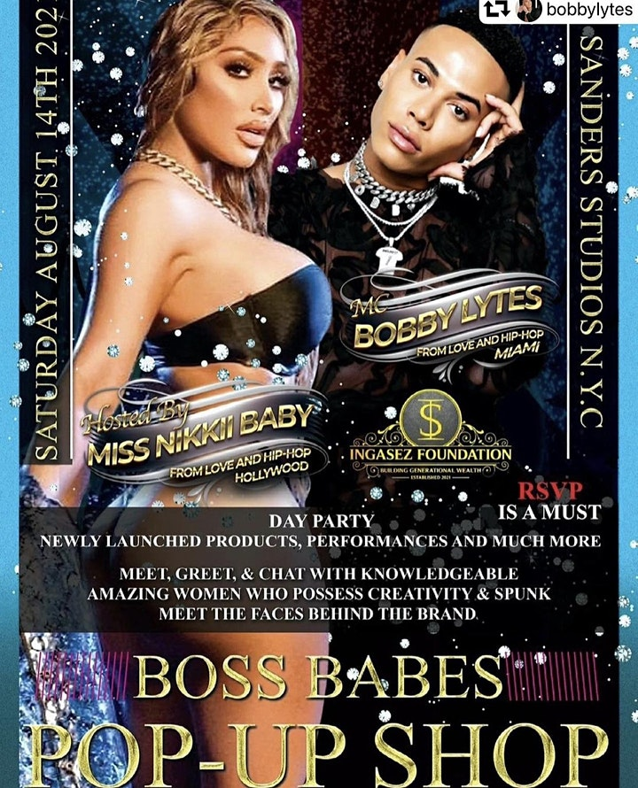 BOSS BABES POP-UP SHOP hosted by MISS NIKKII BABY & BOBBY LYTES image