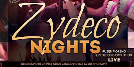 Zydeco Nights @ Club Riderz tickets