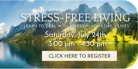 Stress-Free Living tickets