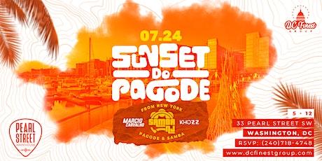 Sunset do Pagode (Summer 2021) tickets