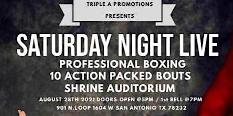 Saturday Night Live Boxing tickets