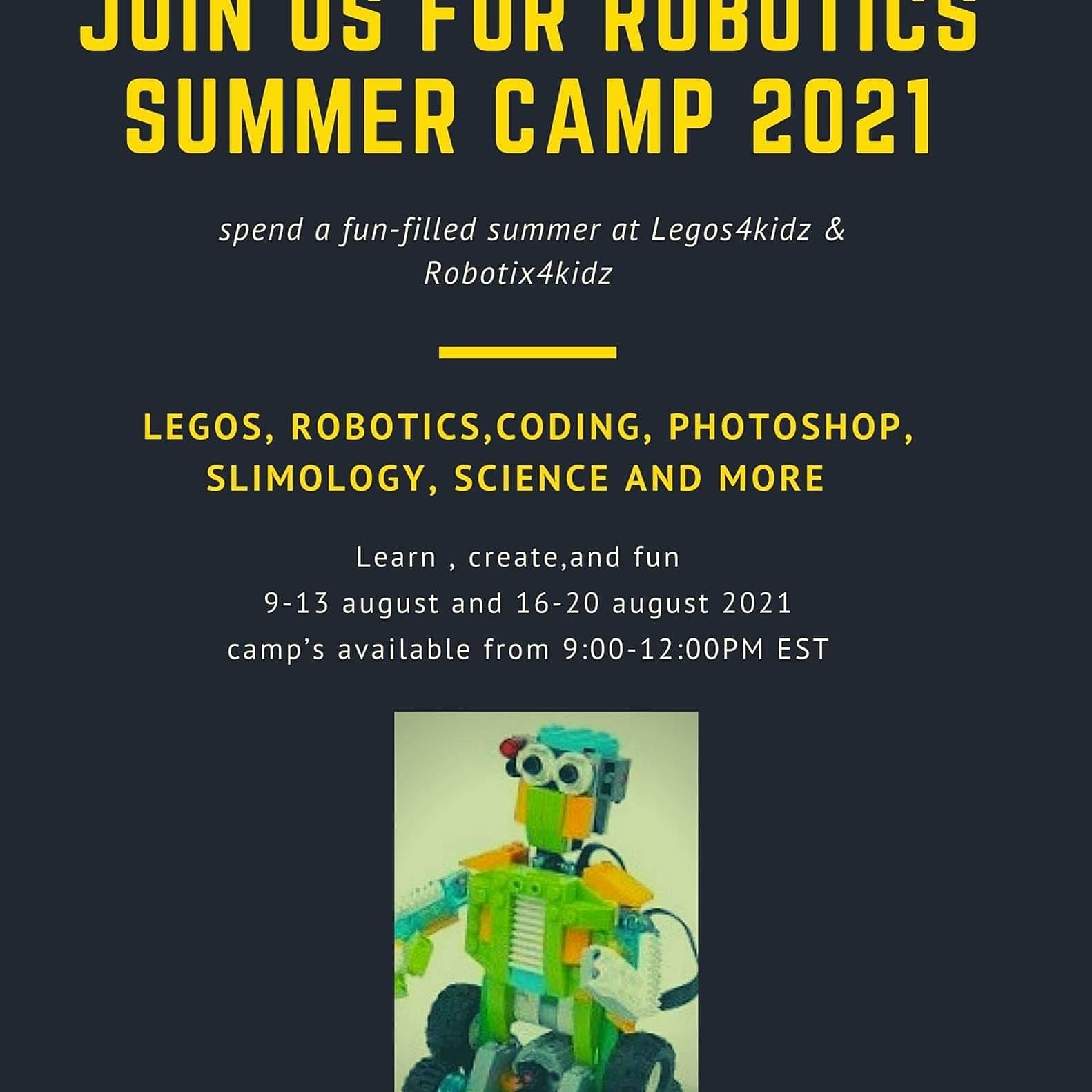 Lego camp ages 4-7/8-12