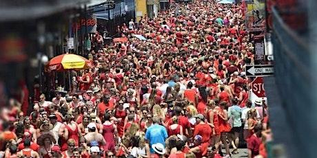 Red Dress Run Bourbon Street Balcony Party tickets