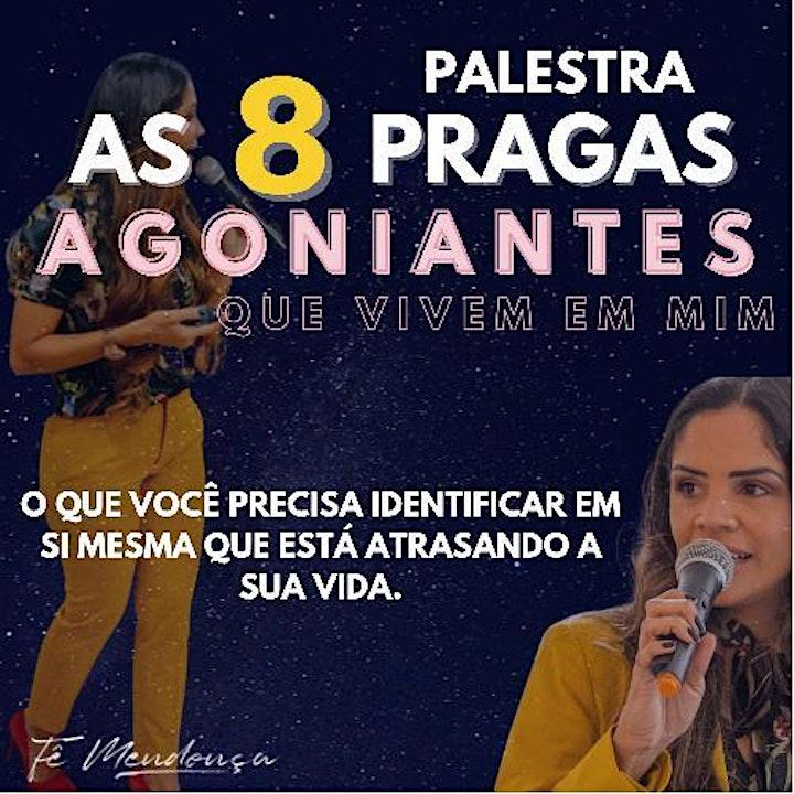 Imagem do evento PALESTRA AS 8 PRAGAS AGONIANTES QUE VIVEM EM MIM