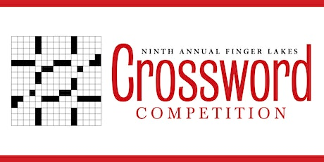 """Ninth Annual Finger Lakes Crossword and """"Honor"""" Competition tickets"""