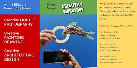 The Art Luggage Creativity Workshop tickets