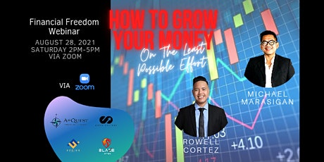 How To Grow Your Money On The Least Possible Effort via Zoom tickets