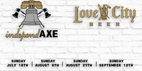 Love City Brewing + Independaxe Present: Outside Axe Throwing tickets