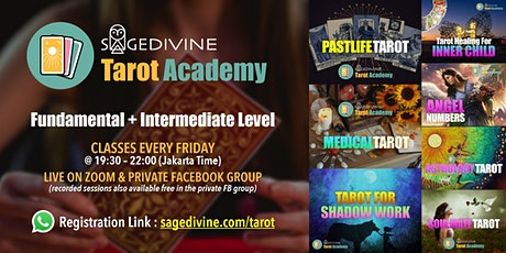 Tarot Academy: Past Life, Medical, Inner Child, Astrology, Angel Numbers tickets