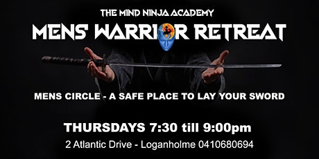 MEN'S WARRIOR RETREAT - Men's circle - A safe place to lay your sword tickets