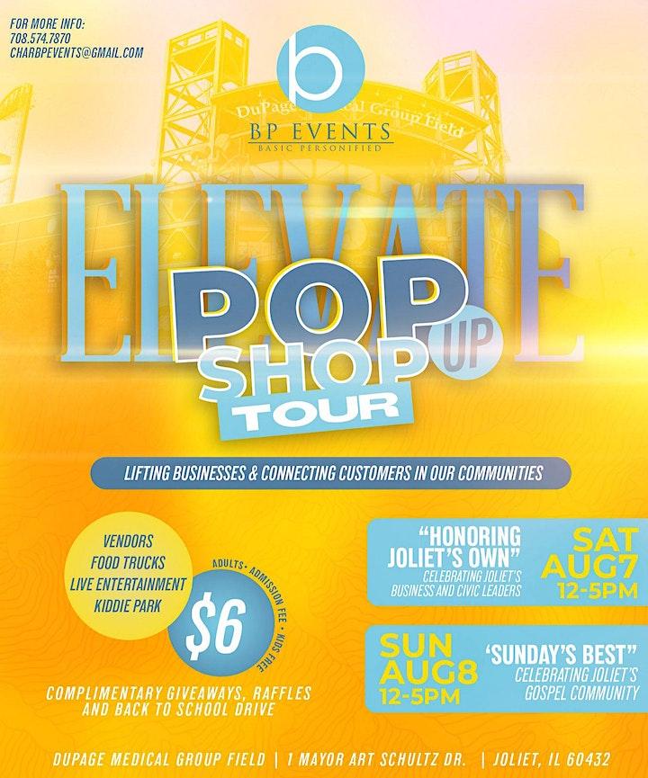 BP EVENTS - ELEVATE Vendor PopUp Shop image