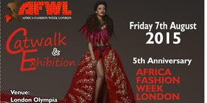 AFRICA FASHION WEEK LONDON 2015 - Student's Ticket