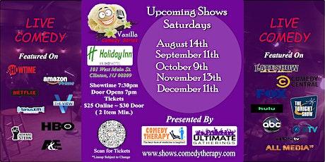 Vanilla Comedy Series @ Holiday Inn Clinton, NJ - October 9th 7:30 Show tickets