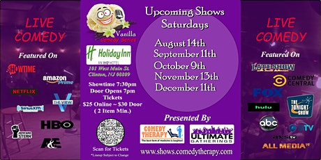 Vanilla Comedy Series @ Holiday Inn Clinton, NJ - December 11th 7:30 Show tickets