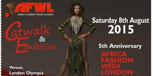 AFRICA FASHION WEEK LONDON 2015 - Student's Ticket.