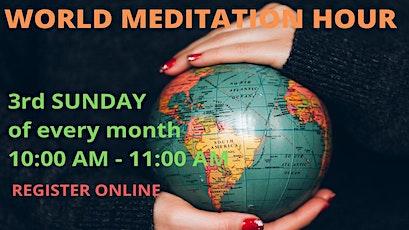 World Meditation Hour: Meditation for The World tickets