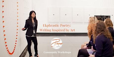 Ekphrastic Poetry: Writing Inspired by Art (Online Workshop) tickets