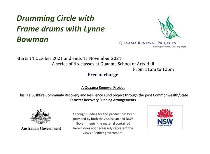 Drumming Circle with Frame drums image