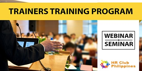Live Seminar: Trainers Training For Managers & Instructors tickets