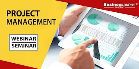 Live Seminar: Project Management tickets