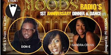 Moods Radio Black Tie Dinner and Dance tickets