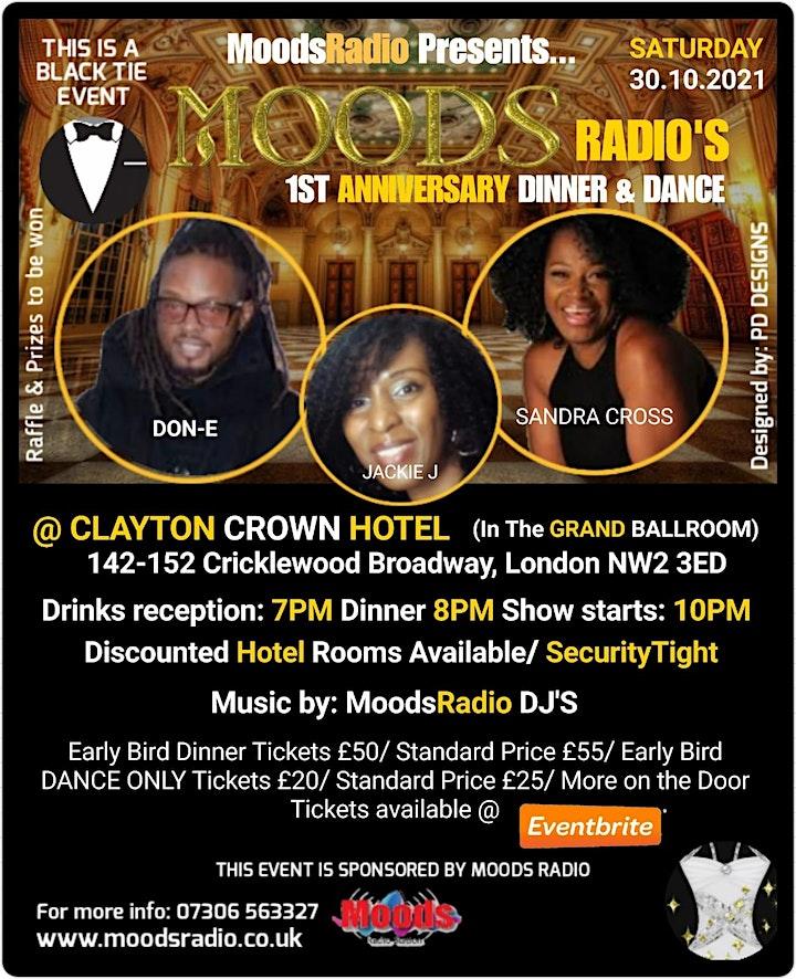 Moods Radio Black Tie Dinner and Dance image
