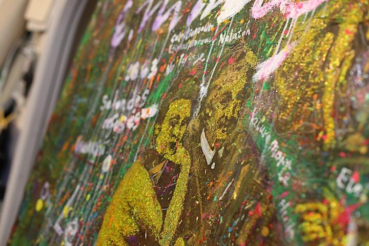 Michael Andrew Law 與馬奈午餐 : 假如朱利安·施納貝爾肯創作波普藝術™ 系列 image