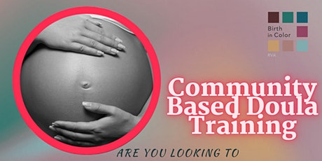 Community Based Doula Training with CPR Certification tickets