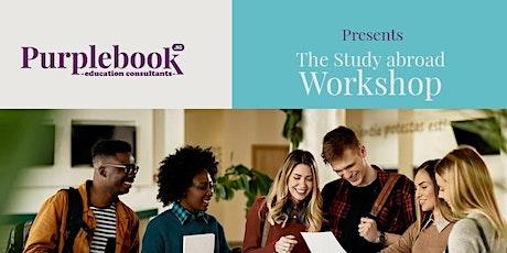 Purplebook.ng presents THE  STUDY ABROAD WORKSHOP billets