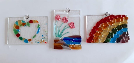 Glass workshop: make your own glass hanging (27th July) tickets