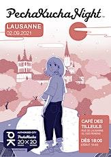 Pechakucha Lausanne  - Story telling à la Ferme des Tilleuls billets