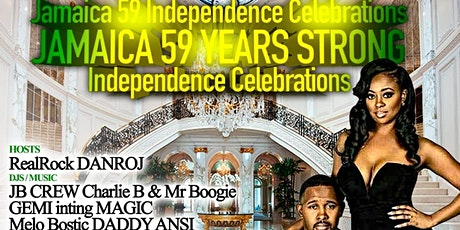 Jamaica   59 Years   Strong  Independence Celebrations tickets