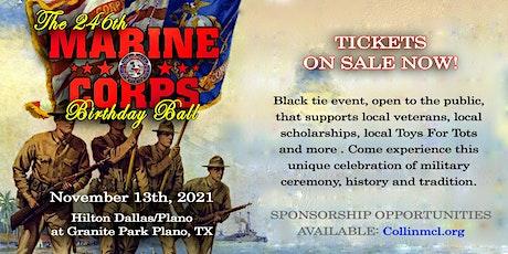 246th Marine Corps Birthday Ball tickets
