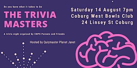 CNPS Parents & Friends Trivia Night tickets