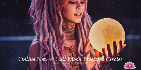 Online New & Full Moon Priestess Circle Series tickets