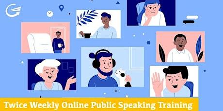 Public Speaking Confidence: FREE Training - Overcome Public Speaking Fear tickets
