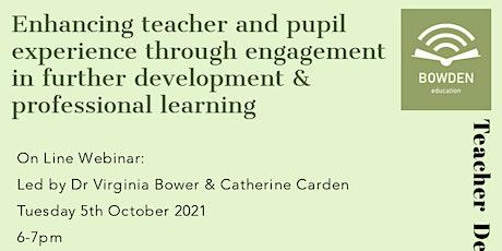 Teacher Further Development & Professional Learning tickets