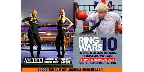 Ring Wars 10 - Birmingham Boxing Ring Girls Limitless Benefits tickets