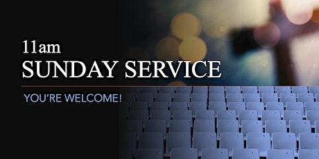 11am Sunday Service - 1st August 2021 tickets