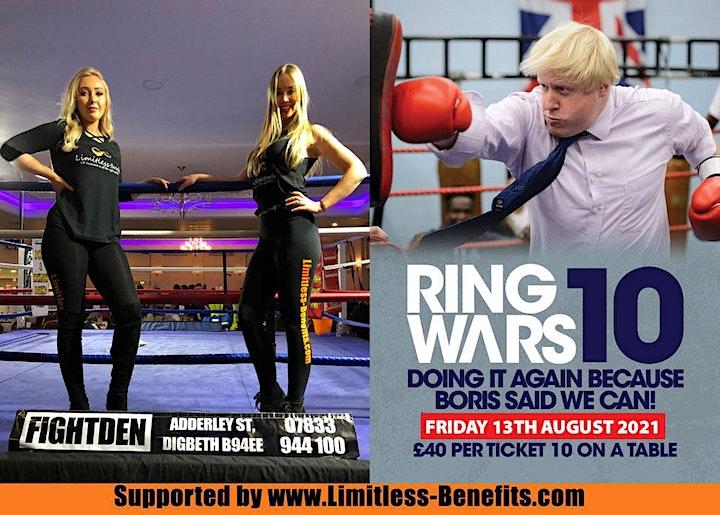 Ring Wars 10 - Birmingham Boxing Ring Girls Limitless Benefits image